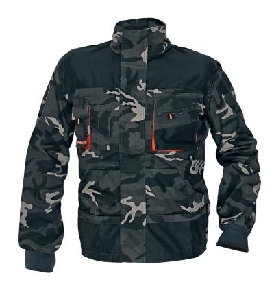 Ochranné pomůcky, oděvy a obuv pro řemeslníky - pracovní bunda EMERTON CAMOUFLAGE - O200028