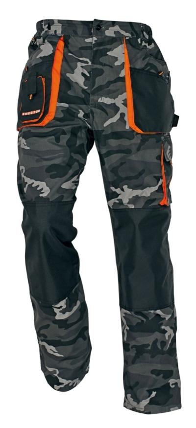 Pracovní montérky - pracovní kalhoty pas EMERTON CAMOUFLAGE - O200021