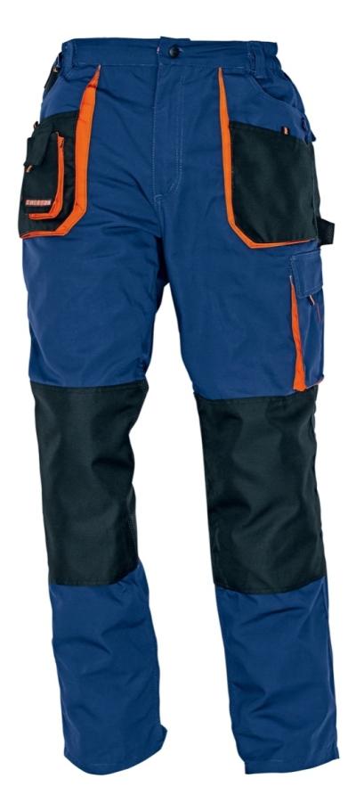Pracovní montérky - pracovní kalhoty pas EMERTON NAVY - O200313