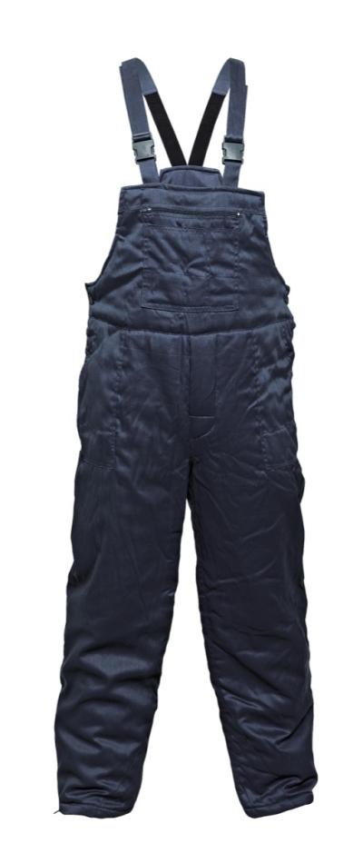 Zateplené zimní pracovní kalhoty - pracovní kalhoty lacl zimní FF ERICH BE-03-001 - O201130