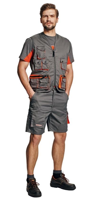 Pracovní vesty - pracovní vesta DESMAN - 2501
