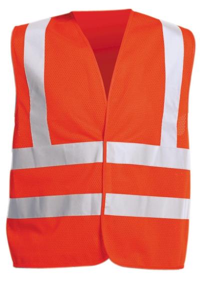 Reflexní pracovní oděvy pro cestáře - pracovní vesta QUOLL - 2880