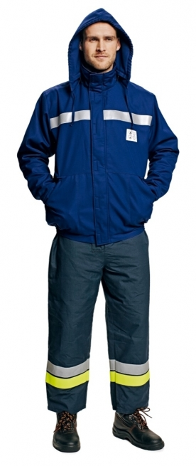 Antistatické oděvy pro elektrikáře - pracovní oděv ohnivzdorný antistatický zimní TUNK - O201179