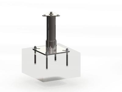 sloupek kotevní PROTON 1-200mm - P400288