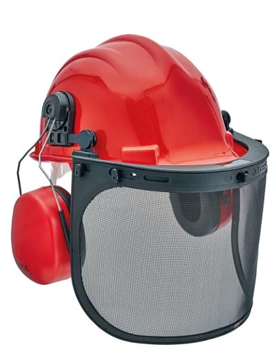 Ochranné obličejové štíty - lesnický komplet YARROW FORESTRY SET  SNR 26 dB - P400393
