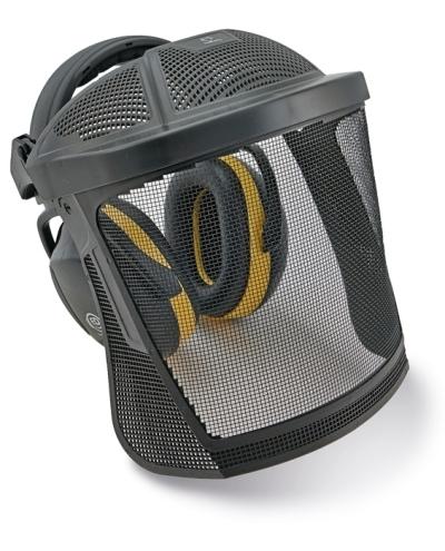 Ochranné obličejové štíty - sluchátka/drátěný štít ED SET  30 dB - P400394