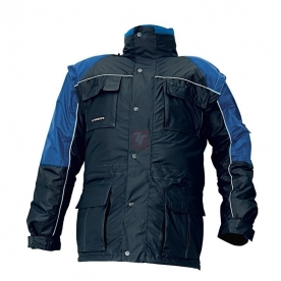 Zateplené zimní pracovní montérky - pracovní bunda zimní STANMORE - 2716