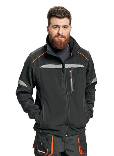 Ochranné pomůcky, oděvy a obuv pro řemeslníky - pracovní bunda softshellová EMERTON - O201594