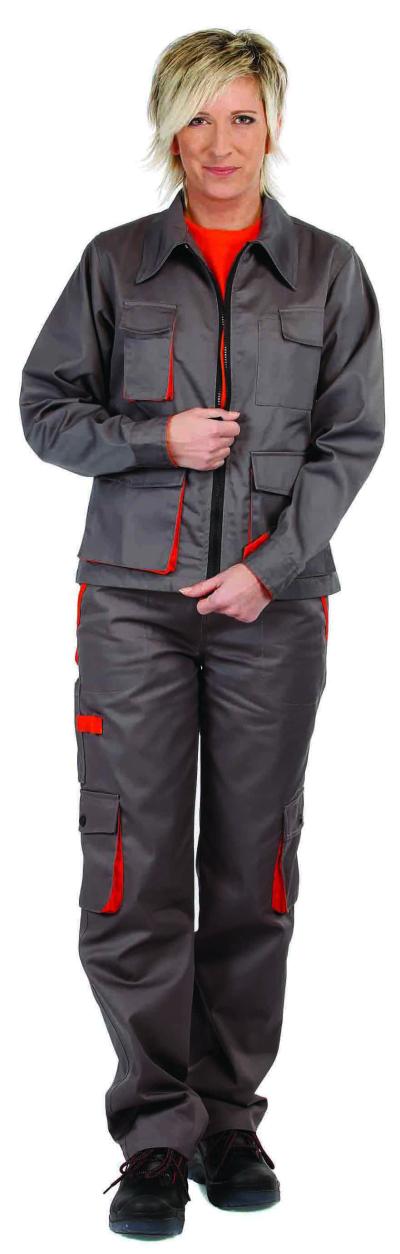 Dámské pracovní oděvy - pracovní kalhoty pas DESMAN LADY - 2621