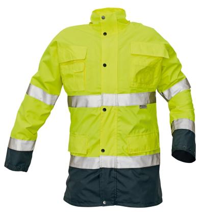 Reflexní pracovní oděvy pro cestáře - pracovní bunda MALABAR - 2335