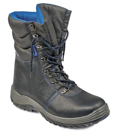 Vysoká holeňová pracovní obuv - pracovní obuv RAVEN RUBBER HIGH ANKLE S3 - B300203