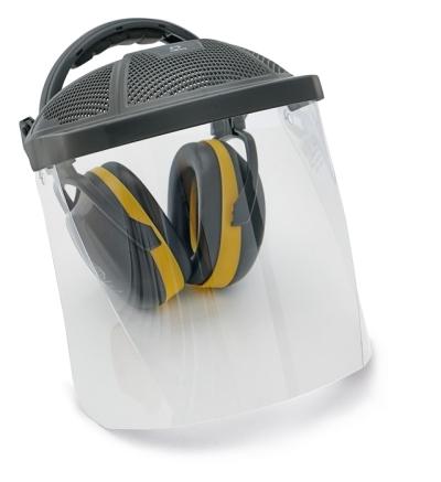 Ochranné obličejové štíty - sluchátka/PC štít ED SET  30 dB - P400395