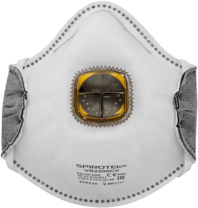 filtrační polomasky SPIROTEK - respirátor VS2200CV FFP2OV - P400230