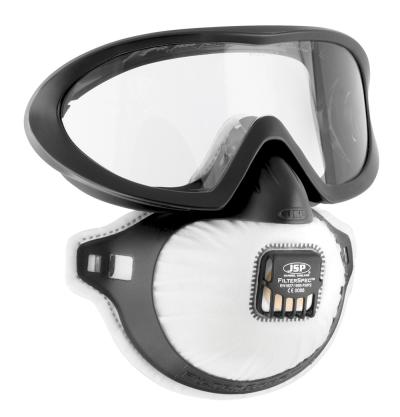 Ochrana zraku - Brýle + respirátor FILTERSPEC PRO FFP2 - P400233