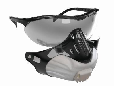 Ochrana dechu - brýle + respirátor FILTERSPEC FFP2 - 4855