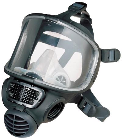Pracovní oděvy a obuv – výprodej - celoobličejová maska SPIROTEK FM9000 - 4693