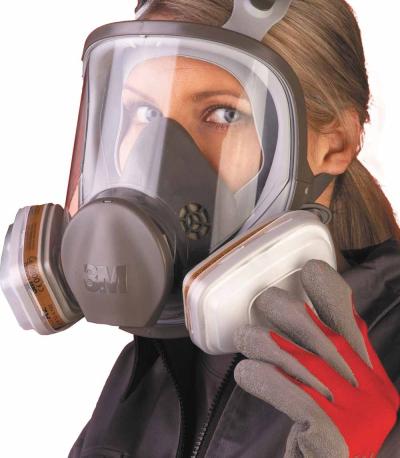 Masky a polomasky - celoobličejová maska 3M 6700, 6800 - 4429