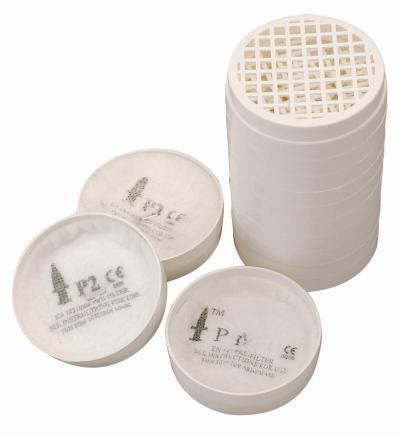 Ochrana dechu - filtry MIDIMASK P2 PRE-FILTER KITS (6+2) - 4803