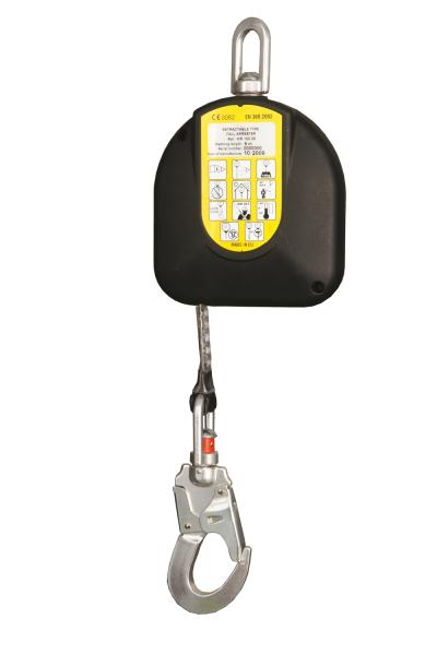 Samonavíjecí zachycovač pádu WR 100 - P400018