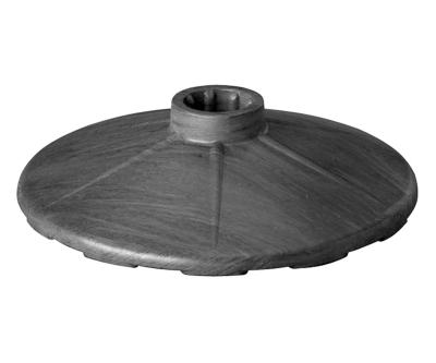 silniční bariéry, pásky - černý podstavec (3 kg) - P400125