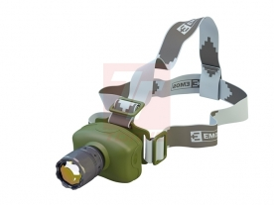 Čelovky - Kvalitní čelovky PETZL a EMOS - čelovka EMOS 1 LED 3W - P400405