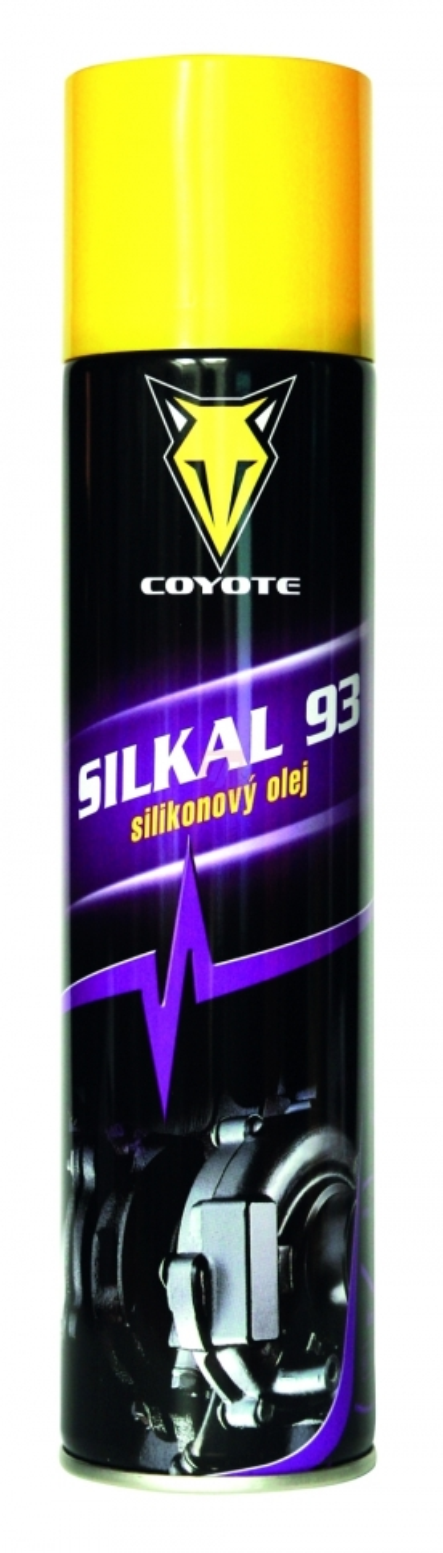Ostatní mycí a čisticí prostředky - SILKAL 93 sprej 400 ml - 5172