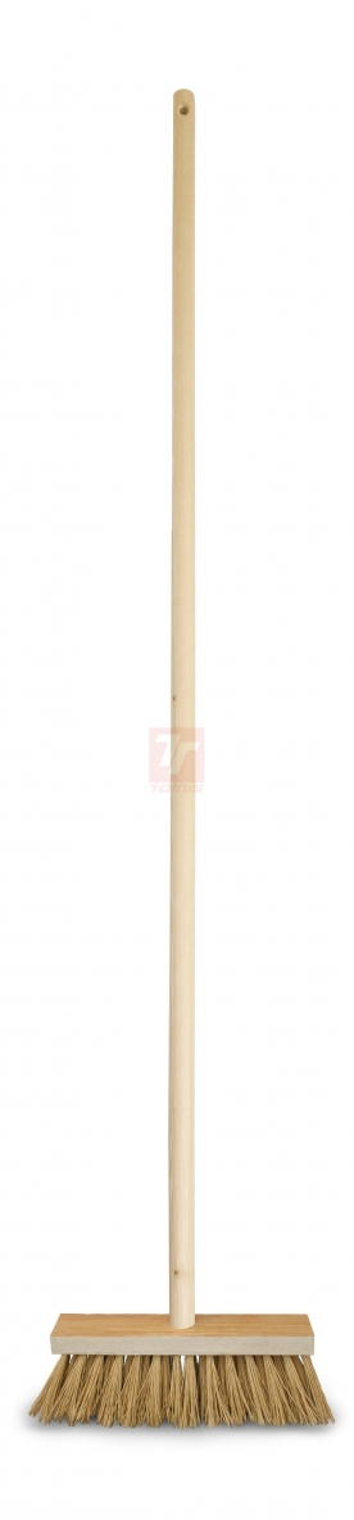 Ostatní mycí a čisticí prostředky - koště dřevěné s holí - 5039
