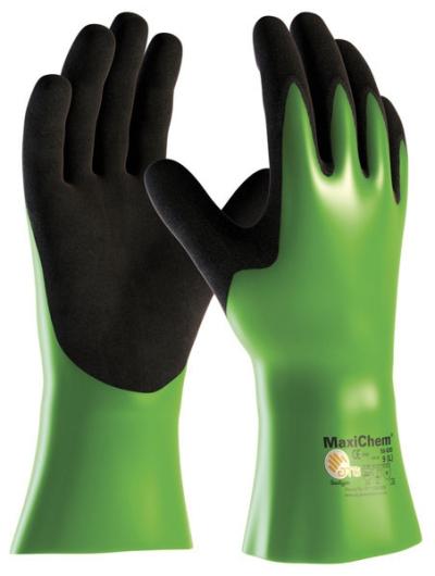 Pracovní rukavice - pracovní rukavice MAXICHEM 56-630 - 1891