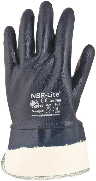 Pracovní rukavice - pracovní rukavice NBR-LITE 34-796 - 1898