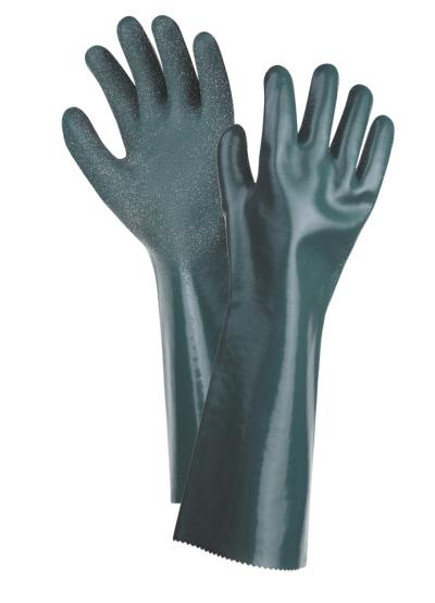 pracovní rukavice UNIVERSAL zdrsněné 45 cm - 1365
