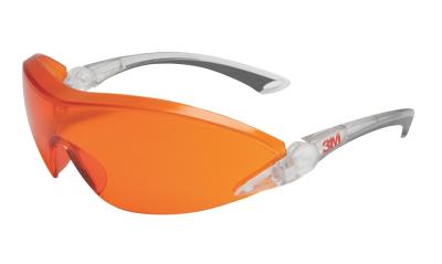 Ochrana zraku - ochranné brýle 3M 2846 oranžové - 4467