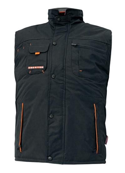 Zateplené zimní pracovní vesty - pracovní vesta zimní EMERTON - 2562