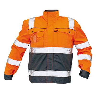 Reflexní pracovní oděvy pro cestáře - pracovní bunda COLYTON - 2822