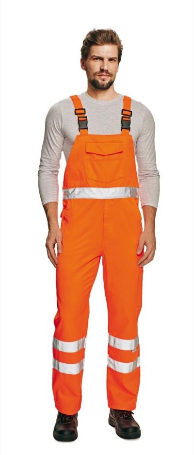 Reflexní pracovní oděvy pro cestáře - pracovní kalhoty lacl KOROS - 2914