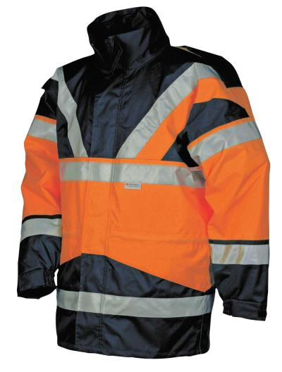 Reflexní pracovní oděvy pro cestáře - pracovní bunda SKOLLFIELD 209A 4v1 - O200015