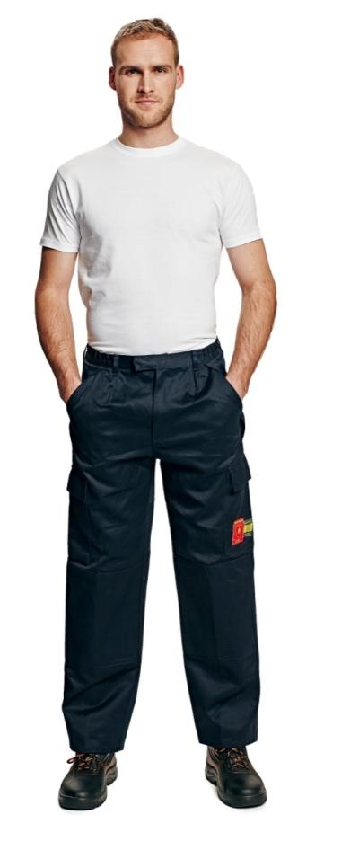 Antistatické oděvy pro elektrikáře - pracovní kalhoty pas COEN - 2896