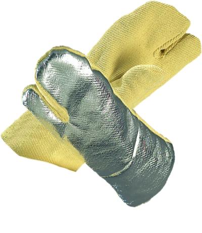 Oděvy pro hasiče - pracovní rukavice tepelně odolné - 1081