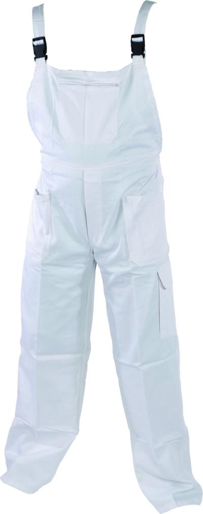malířské pracovní kalhoty s náprsenkou - O200456