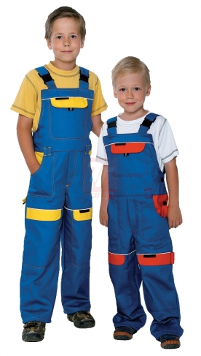Pracovní oděvy pro děti - pracovní kalhoty dětské COOL TREND lacl - 2828