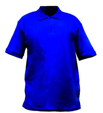 pracovní tričko s límečkem 160 g/m2 - 2131