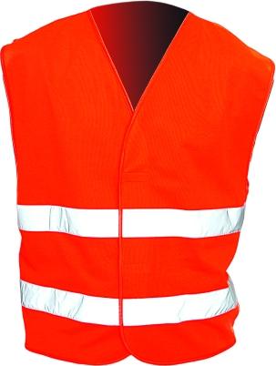 Reflexní pracovní oděvy pro cestáře - vesta reflexní nadměrná - 2526