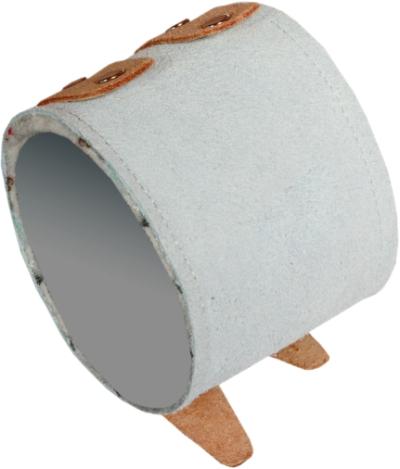 Kožené oděvy a doplňky - kožený zápěstní řemínek - 2074