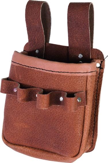 Kožené oděvy a doplňky - kožený kapsář - 2115