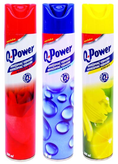 čistící prostředky - Q-Power osvěžovač vzduchu - 5184