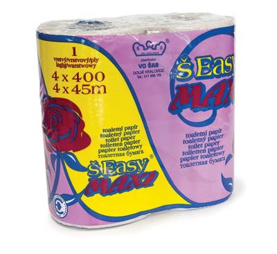 Mycí a čistící prostředky - toaletní papír 1 vrstvý - 5012