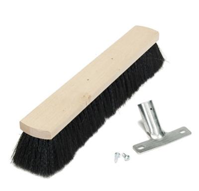 smeták na hůl 40 cm/dřevo - 5086