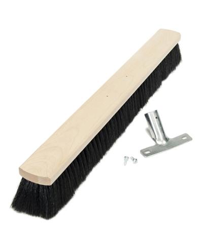 smeták na hůl 60 cm/dřevo - 5036