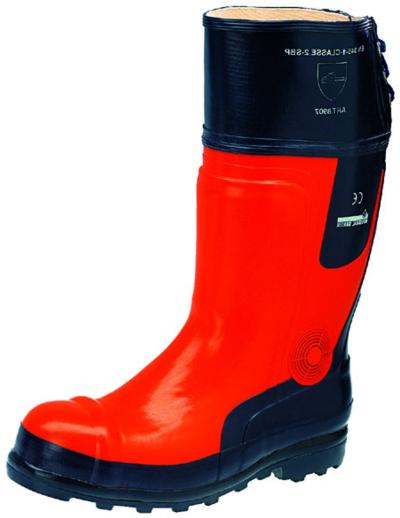 Pracovní obuv - pracovní holínky protipořezové - 3697