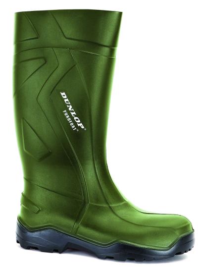 Pracovní obuv - pracovní holínky DUNLOP PUROFORT GREEN O4 - 3486