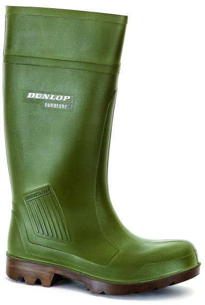 Pracovní obuv - pracovní holínky DUNLOP PUROFORT GREEN O4 - 3658